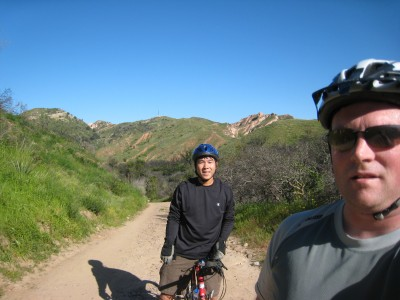 MTB on Saturday morning with Hong at Whiting Ranch